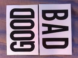 bien ou mauvais